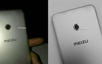 Meizu X leaks in live pictures, has a ring flash