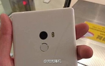 Xiaomi Mi Mix leaks in white