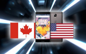 OnePlus 3T now available in the US and Canada
