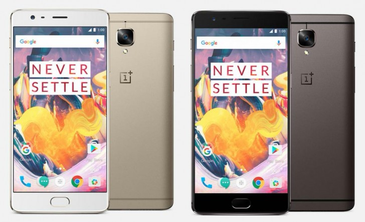 OnePlus 3T Brings Speed and Storage