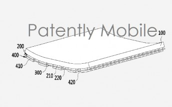 Samsung was granted yet another patent for flexible display technology