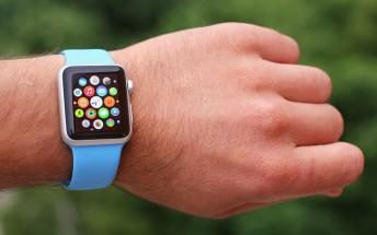 Apple's share of worldwide smartwatch market last year was nearly 50%