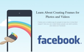 Facebook is beta testing new custom photo frames tool