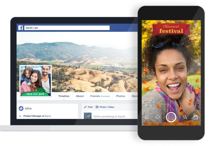 Facebook is beta testing new custom photo frames tool – Grouvy Today