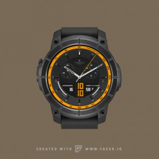 Chrono Bill by Timeless Watchfaces on the Nixon Mission