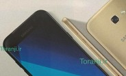 Samsung Galaxy A7 (2017) now leaks in images