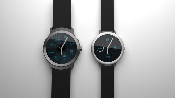 Google xác nhận rằng nó tung ra smartwatches Android Wear cặp đôi vào đầu năm 2017