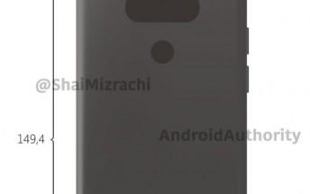 LG G6 renders leaked