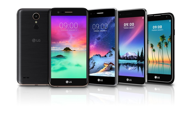 LG Announces The Launch Of Four Budget Smartphones In 'K' Series