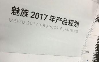 Meizu's 2017 roadmap purportedly leaks