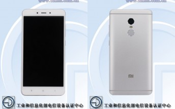 Xiaomi Redmi Note 4X is now TENAA certified