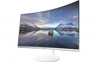 Samsung's new CH771 is a curved, quantum dot monitor, aimed at gamers and pro users