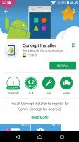 Concept Installer in the Play Store - Xperia Concept for Android