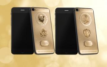 Caviar introduces iPhone 7 with portraits of Donald Trump and Vladimir Putin