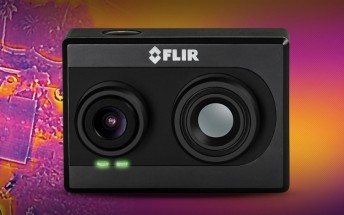FLIR announces world's first thermal imaging action camera