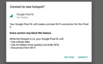 'Instant Tethering' feature now rolling out to Pixel and Nexus devices
