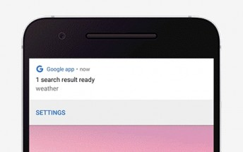 Google Search app will automatically show results when you're back online