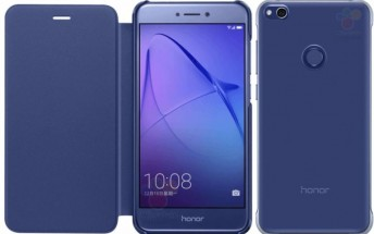 Honor 8 Lite leaks inside a case, looks just like the Huawei P8 Lite (2017)