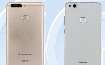 A pair of new smartphones from Huawei and Honor pass through TENAA