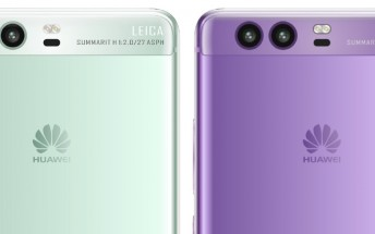 Huawei P10 may get green and purple versions