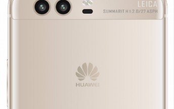 More Huawei P10 renders leak showing curved screen, front fingerprint scanner, dual rear cameras