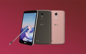 LG makes the Stylo 3 official at CES, the latest stylus-toting mid-ranger