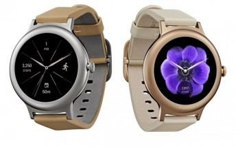 Evan Blass leaks LG Watch Style in Silver and Rose Gold