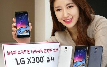 LG X300 goes official: 5-inch 720p display, Snapdragon 425, Nougat
