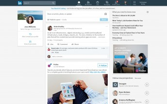 LinkedIn launches major redesign on the web