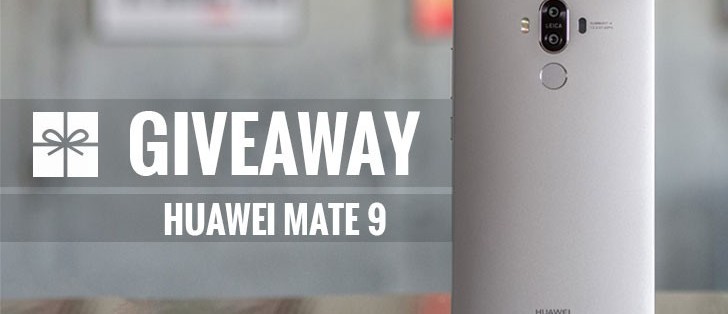 GSMArena giveaway: Enter to win a Huawei Mate 9