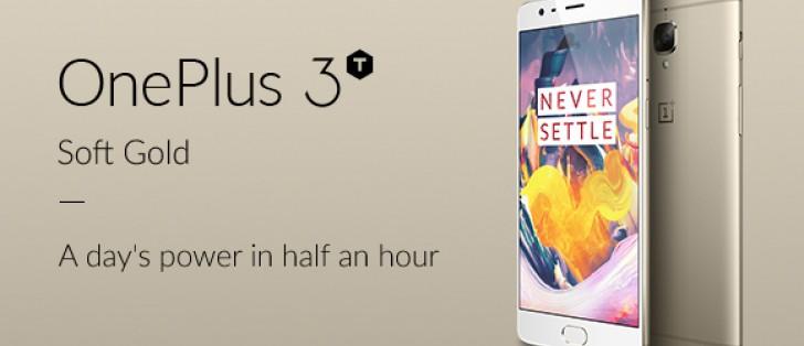 Soft Gold OnePlus 3T goes on sale internationally on January 6