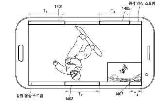 Samsung files patent for dual-lens camera configuration