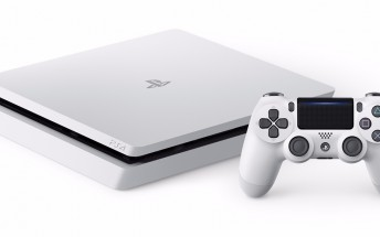 Glacier White PlayStation 4 Slim will be out on January 24