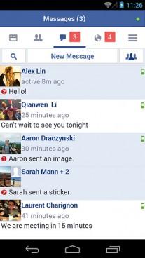 Facebook Lite UI