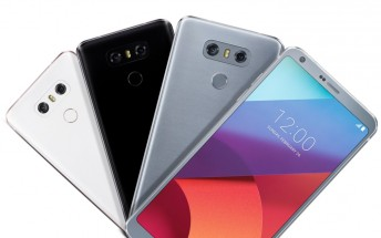 LG G6 colors leak in new image