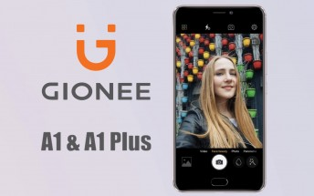 Gionee just unveiled the A1 and A1 Plus handsets