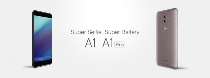 Gionee vừa công bố thiết bị cầm tay A1 và A1 Plus
