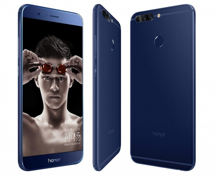 Huawei Honor V9 Becomes Official With Qhd Screen 6gb Of