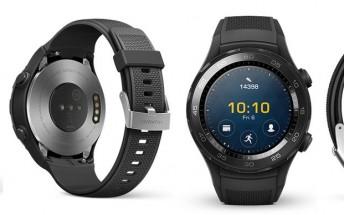 Huawei Watch 2 has a sporty look, leaked press renders reveal