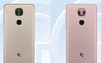 Dual-camera LeEco LEX656 and LEX659 clear TENAA