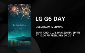 LG G6 launch is live-streamed, here's how to watch it