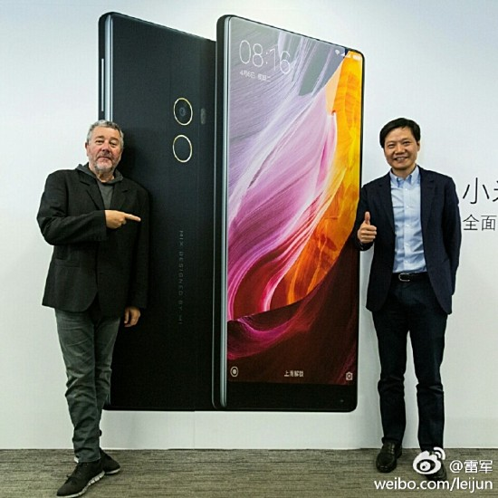 Xiaomi CEO Confirms Working On Mi Mix's Successor With Designer Phillipe Starck