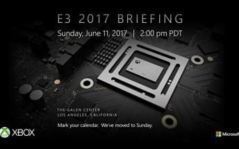 Microsoft confirms Xbox's E3 2017 briefing date