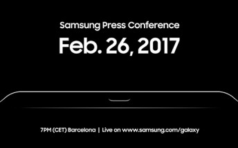 Samsung event at MWC is live on YouTube