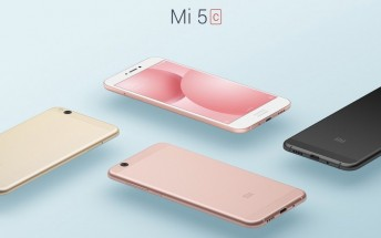 Xiaomi Mi 5C announced with the first in-house Xiaomi processor