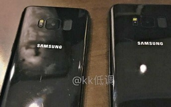 Back in black: yet another set of Samsung Galaxy S8 shots leaks