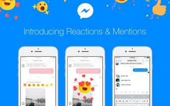 Facebook Messenger gets reactions and mentions in conversations