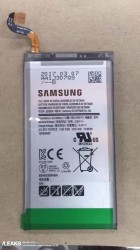 Galaxy S8+ battery