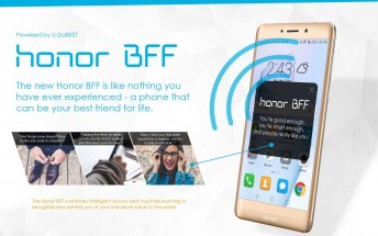 Honor starts April Fools' early with the Honor BFF