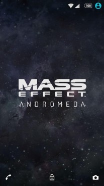 Mass Effect: Andromeda theme for Sony Xperia devices